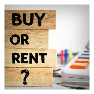 Buy or rent graphic